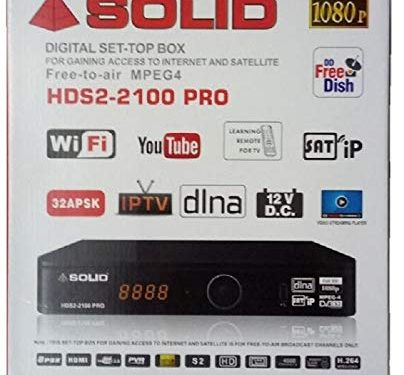 Solid 2100 Pro Review,Software,DLNA and SATIP Full Details