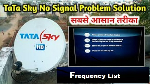 Tatasky Frequency number 2019|| Lnb Frquency ||transponder entry point